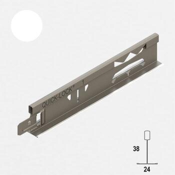 Главен профил за окачен таван Quick-Lock® T24/38