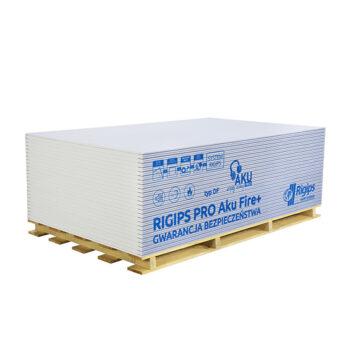 Акустичен пожарозащитен гипсокартон Rigips® PRO AKU FIRE+